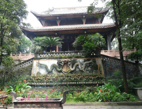 Temple a Chengdu